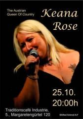 Keana Rose im Industrie!, 1050 Wien  5. (Wien), 25.10.2014, 20:00 Uhr