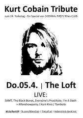 Kurt Cobain Tribute zum 24. Todestag, 1160 Wien,Ottakring (Wien), 05.04.2018, 20:00 Uhr