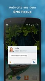 Screenshot von Einfach gschickt: lade dir JETZT sms.at mobile gratis auf dein Handy und teste mit 2,- Geschenk!