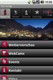 Screenshot von Der interaktive Echtzeit-Skiguide für Ischgl mit aktuellen Daten.