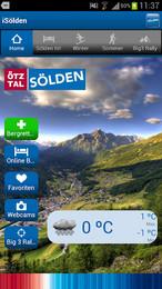Screenshot von Der interaktive Echtzeit-Resortguide für Sölden!