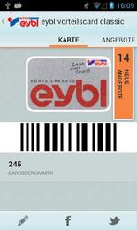 Screenshot von Innerhalb weniger Minuten können Sie Ihre Plastikkarten mit Barcode auf Ihr Handy bringen.