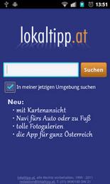 Screenshot von Der Restaurantführer für Österreich - Beisln, Pubs, Cafes, Wirtshäuser und vieles mehr