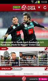 Screenshot von Zum Start der neuen Bundesligasaison wurde die ehemalige Fussball Fieber App nicht nur namentlich sondern auch inhaltlich überarbeitet und erweitert.
