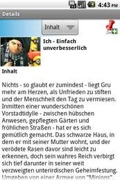 Screenshot von UPC On Demand Österreich bringt die neuesten Filminformationen auf Ihr Gerät!