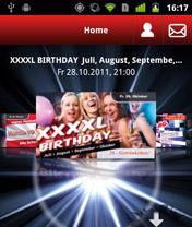 Screenshot von Jetzt für alle Danceclub-C4 Fans: Die gratis Android App. Party und Flirtspaß sind garantiert!
