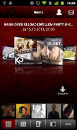 Screenshot von Die gratis Android App. Party und Flirtspaß sind garantiert!