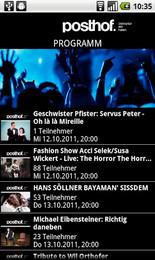 Screenshot von Jetzt Gratis! Die offizielle POSTHOF Android App