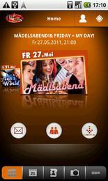 Screenshot von Jetzt für alle Nachtschwärmer und Tollhaus Neumarkt Fans: Die gratis Android App.