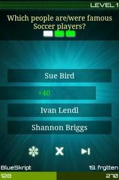 Screenshot von Bis zu 4 Spieler auf einem Gerät! Quisr - die neue Art ein Quiz zu spielen.