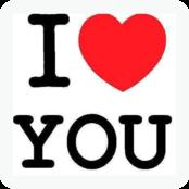I Love You bestellen!