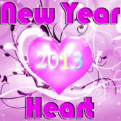New Year Heart
