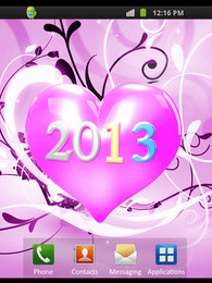Screenshot von New Year Heart