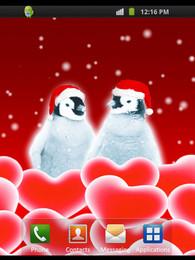 Screenshot von Xmas Penguins