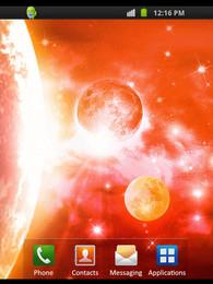 Screenshot von Planets Shine