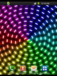 Screenshot von Optical Glow