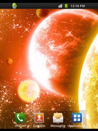 Screenshot von Golden Planet
