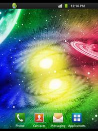 Screenshot von Glowing Universe