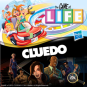 Hasbro 2 for 1 (Game Of Life + Cluedo)