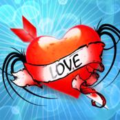 Heart Tattoo bestellen!