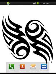 Screenshot von Tattoo Symbole