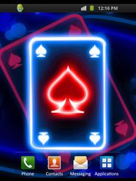 Screenshot von Neon Card