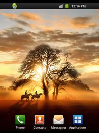 Screenshot von Sunset Ride