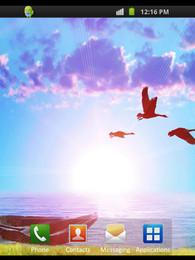 Screenshot von Spring Sunset