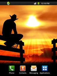 Screenshot von Cowboy Sunset