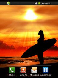 Screenshot von Surfer Sunset