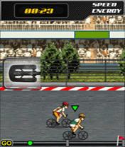 Screenshot von Nimm am sehr anstrengendem Rennen teil, wo ilegale Drogen keinen Einfluss haben und alles nur von de