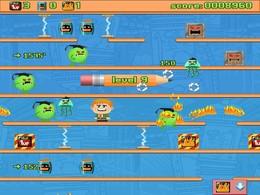 Screenshot von Das originale und beste Furz-und-Spring-Spiel! Iss Bohnen und zünde deine Fürze an! Wie hoch kommst du?