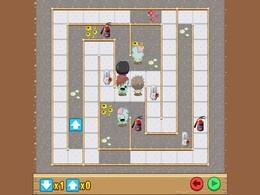 Screenshot von Führ die dummen Zombies in diesem witzigen Puzzlespiel mit Suchtfaktor in den Untergang.