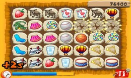 Screenshot von 3-Übereinstimmungs-Erinnerungsspiel zum Sprachentraining