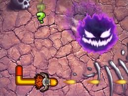 Screenshot von Das Snake Spiel mit mehr Action denje! Kämpfe wie ein Barbar! Du kannst im Klassik Modus spielen oder deine Gegenspieler besiegen im Action Modus.