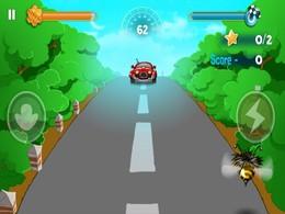 Screenshot von Obstacle Flight gibt dir einen Adrenalinkick und ein tolles Gefühl! Das neue Simulations und Arcade Spiel  «Bumblebee Race» ist ein Flug voll von Abenteuern, Gefahren und Spass.