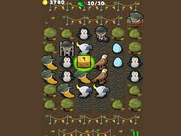Screenshot von Dein Ziel ist, alle Tiere zu sammeln und den besten Zoo zu haben. Kombiniere drei gleiche Tiere, um ein neues zu bekommen und setze das Kombinieren fort.