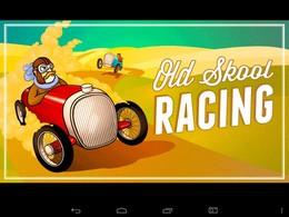 Screenshot von Klassisches 2D-Retro-Rennspiel für alle mit einem angeborenem Bleifuß! Entscheide dich für das richtige Vintage-Auto für die jeweilige Strecke. Also: Fuß aufs Gas und ab gehts!