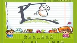 Screenshot von Drei klassische Wörterspiele für den Preis von einem! Hol dir diese brandneuen, super süssen und super süchtig machenden Versionen von Hangman, Word Search und Anagrams in einem Download! Unschlagbarer Wert und ein Muss für alle Puzzle Fans!