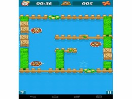 Screenshot von Die ganze Farm ist überflutet! Und die Tiere auch! Helfe ihnen ihre Freunde in diesem logischen Puzzle Spiel zu finden. Die Zeit läuft!