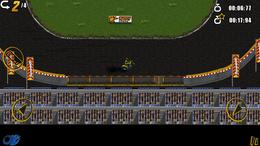 Screenshot von Speedway - Mit einem einfachen Motorrad kann jeder fahren  aber Speedway ist nur für Auserwählte!