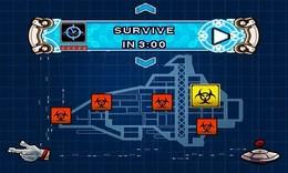 Screenshot von Zerhacke und schlitze Zombies auf - als einsamer Alien auf einem verseuchten Raumschiff