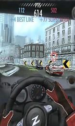 Screenshot von Think fast! Drive faster! Für Android optimiert! Mit 20 heißen Wagen und 18 Kursen in 3 atemberaubenden Locations.