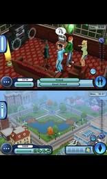 Screenshot von Optimiert für Android! Bestimme in dieser Die Sims-Erfahrung über das Aussehen deines Sims und schalte Ziele und Wünsche frei.