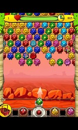 Screenshot von In diesem Zuma-ähnlichen Arcade-Spiel wirst Du viel Spaß dabei haben, Vögel vor bösen Hexen zu retten!