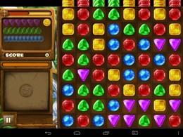 Screenshot von Der Dschungel ist voller funkelnder Edelsteine  ein Paradies für Schatzjäger!