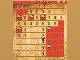 Screenshot von Vier klassische Puzzle-Spiele zum Preis von einem! Hol dir jetzt diese brandneuen Versionen von Minesweeper, Sudoku, Hangman und Peg Solitaire in einem Download!