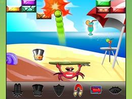 Screenshot von Viele Herausforderungen warten auf dich in unterschiedlichen Spielmodi wie Beach-Tennis, Kraft, von Angesicht zu Angesicht. Sommer, Sonne, Urlaubsfeeling garantiert!