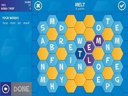 Screenshot von Word Thief ist ein brandneues Wörterspiel für dich und deine Freunde. Das Spiel kombiniert die Spielmechanik des Spiels Word Search mit runden-basiertem Gameplay.