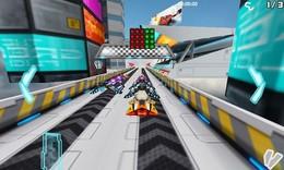 Screenshot von Ein Rennen für Menschen mit Nerven aus Stahl!